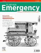 Cover-Bild zu Elsevier Emergency. Die Geschichte des Rettungsdiensts. 2/2021 von Klausmeier, Matthias (Hrsg.)