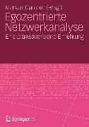 Cover-Bild zu Egozentrierte Netzwerkanalyse von Gamper, Markus