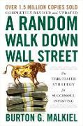 Cover-Bild zu A Random Walk Down Wall Street von Malkiel, Burton G. (Princeton University)