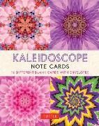 Cover-Bild zu Kaleidoscope, 16 Note Cards von Tuttle Publishing (Hrsg.)