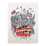 Cover-Bild zu London Handmade Silkscreened Journal von Haworth, Hennie