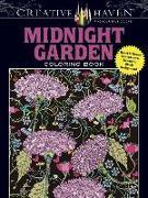 Cover-Bild zu Creative Haven Midnight Garden Coloring Book: Heart & Flower Designs on a Dramatic Black Background von Boylan, Lindsey