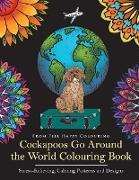 Cover-Bild zu Cockapoos Go Around the World Colouring Book von Feel Happy Colouring
