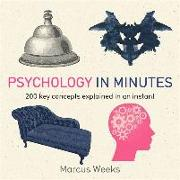 Cover-Bild zu Weeks, Marcus: Psychology in Minutes