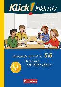Cover-Bild zu Klick! inklusiv, Mathematik, 5./6. Schuljahr, Daten und natürliche Zahlen, Arbeitsheft 1 von Jenert, Elisabeth