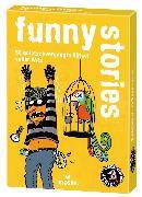 Cover-Bild zu black stories Junior funny stories von Harder, Corinna