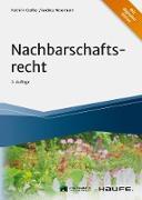 Cover-Bild zu Nachbarschaftsrecht (eBook) von Gerber, Kathrin