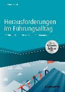 Cover-Bild zu Herausforderungen im Führungsalltag - inkl. Arbeitshilfen online (eBook) von Happich, Gudrun