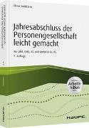 Cover-Bild zu Jahresabschluss der Personengesellschaft leicht gemacht - inkl. Arbeitshilfen online von Goldstein, Elmar