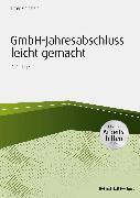 Cover-Bild zu GmbH-Jahresabschluß leicht gemacht - inkl. Arbeitshilfen online (eBook) von Goldstein, Elmar