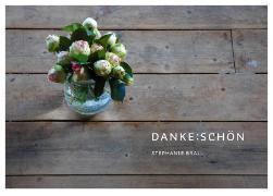Cover-Bild zu DANKE:SCHÖN - Postkartenbuch von Brall, Stephanie (Gestaltet)