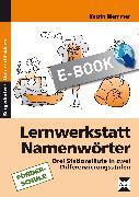 Cover-Bild zu Lernwerkstatt Namenwörter (eBook) von Wemmer, Katrin