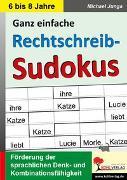 Cover-Bild zu Rechtschreib-Sudokus (eBook) von Junga, Michael