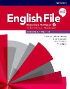 Cover-Bild zu English File: Elementary: Student's Book/Workbook Multi-Pack A von Latham-Koenig, Christina