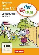 Cover-Bild zu der-die-das, Deutsch-Lehrwerk für Grundschulkinder mit erhöhtem Sprachförderbedarf, Erstlesen, 1./2. Schuljahr, Software Sprachförderung, CD-ROM