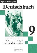 Cover-Bild zu Anetzberger, Johann: Deutschbuch Gymnasium, Bayern, 9. Jahrgangsstufe, Handreichungen für den Unterricht