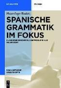 Cover-Bild zu Spanische Grammatik im Fokus (eBook) von Radatz, Hans-Ingo