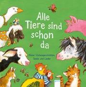Cover-Bild zu Bergmann, Barbara: Alle Tiere sind schon da