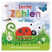 Cover-Bild zu Jaekel, Franziska: Mein buntes Fingerspuren-Buch. Lerne zählen mit Maxi