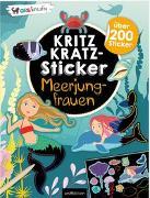 Cover-Bild zu Kritzkratz-Sticker Meerjungfrauen von Schindler, Eva (Gestaltet)