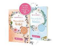 Cover-Bild zu Spring in eine Pfütze! Mein perfekter Herbst/ Mein perfekter Winter. Wendebuch von ViktoriaSarina
