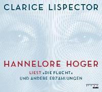 Cover-Bild zu Hannelore Hoger liest Lispector - von Lispector, Clarice