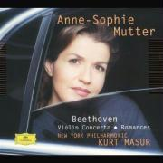 Cover-Bild zu Beethoven Violin Concerto / Romances. Klassik-CD von Mutter, Anne-Sophie (Solist)