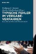 Cover-Bild zu Typische Fehler im Vergabeverfahren (eBook) von Renner, Wolfgang G. (Hrsg.)