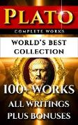 Cover-Bild zu Pater, Walter Horatio: Plato Complete Works - World's Best Collection (eBook)