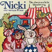 Cover-Bild zu Sauberzweig, Ilsabe v.: Nicki der weisse Hase, Folge 2: Die abenteuerliche Wanderung (Audio Download)