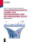 Cover-Bild zu Volkswirtschaftslehre aus orthodoxer und heterodoxer Sicht (eBook) von Bontrup, Heinz-J.