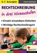 Cover-Bild zu Rechtschreibung in drei Niveaustufen / Klasse 5-7 (eBook) von Hartmann, Horst