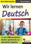 Cover-Bild zu Wir lernen Deutsch (eBook) von Hartmann, Horst