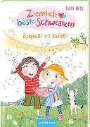 Cover-Bild zu Ziemlich beste Schwestern - Spaghetti mit Konfetti (Ziemlich beste Schwestern 7) von Welk, Sarah