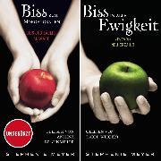 Cover-Bild zu Meyer, Stephenie: Biss-Jubiläumsausgabe - Biss zum Morgengrauen / Biss in alle Ewigkeit (Audio Download)