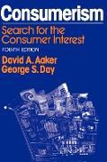 Cover-Bild zu Aaker, David A. (Hrsg.): Consumerism, 4th Ed