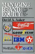 Cover-Bild zu Aaker, David A.: Managing Brand Equity