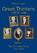 Cover-Bild zu Great Thinkers in 60 Minutes - Volume 1 (eBook) von Ziegler, Walther