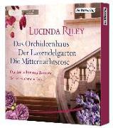 Cover-Bild zu Die große Box: Das Orchideenhaus - Der Lavendelgarten - Die Mitternachtsrose von Riley, Lucinda