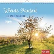 Cover-Bild zu Kleine Pausen in der Natur 2021 von Groh Redaktionsteam (Hrsg.)