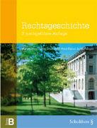 Cover-Bild zu Rechtsgeschichte