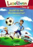 Cover-Bild zu Leselöwen 1. Klasse - Anpfiff für den Wunderstürmer! von Bandixen, Ocke