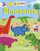 Cover-Bild zu Big Stickers for Tiny Hands: Dinosaurs von Pat-a-Cake