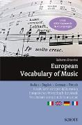 Cover-Bild zu European Vocabulary of Music von Braccini, Roberto