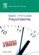 Cover-Bild zu Last Minute Psychiatrie (eBook) von Frauenknecht, Klaus