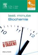 Cover-Bild zu Last Minute Biochemie von Adolph, Oliver