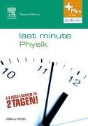 Cover-Bild zu Last Minute Physik von Wenisch, Thomas