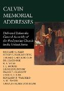 Cover-Bild zu Calvin Memorial Addresses (eBook) von Denny, George H.