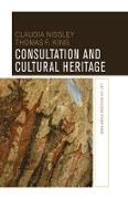 Cover-Bild zu Consultation and Cultural Heritage (eBook) von Nissley, Claudia