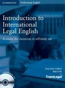 Cover-Bild zu Introduction to International Legal English. Student's Book
